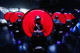 Positron has added a new scent application for its Voyager cinematic virtual reality chair.