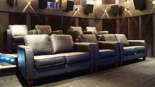 Ymagis Group's Dolby Atmos screening room in London.