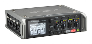 Zoom has released the F4 multitrack field recorder.